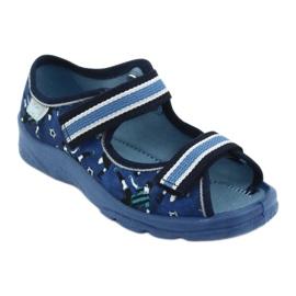 Befado children's shoes 969X141 navy blue 2