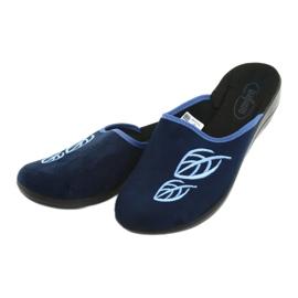 Befado women's shoes pu 552D002 navy 4