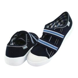 Befado children's shoes 672Y049 navy blue 5