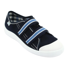 Befado children's shoes 672Y049 navy blue 2