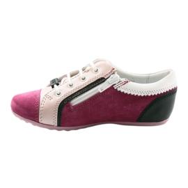 Boots children's shoes Bartek 45293 pink black white 2