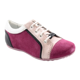 Boots children's shoes Bartek 45293 pink black white 1