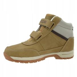 Kappa Bright Mid Fur K 260329K-4143 shoes beige 1
