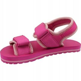 Lacoste Sol 119 Jr 737CUC00222J4 shoes pink 1