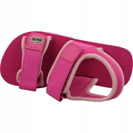 Lacoste Sol 119 Jr 737CUC00222J4 shoes pink 2