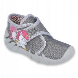 Befado children's shoes 523P016 pink grey 1