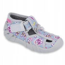 Befado children's shoes 190P093 blue grey multicolored 1