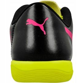 Indoor shoes Puma evoPOWER 4.3 Tricks black, yellow, pink black 3