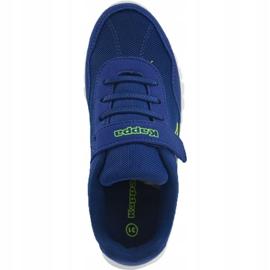 Kappa Follow K Jr 260604K 6033 shoes blue 2