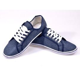 Denim Sneakers G1 Blue 1