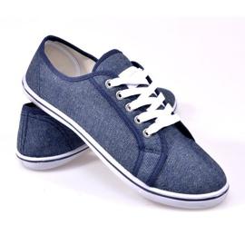 Denim Sneakers G1 Blue 2