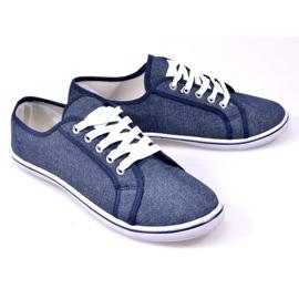 Denim Sneakers G1 Blue 3
