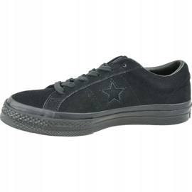Converse One Star Ox M 162950C shoes black 1
