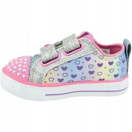 Skechers Shuffle Lite Jr 20135N-SMLT shoes pink 1