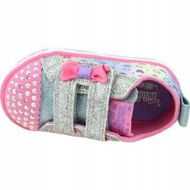 Skechers Shuffle Lite Jr 20135N-SMLT shoes pink 2