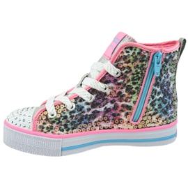 Skechers Twinkle Lite Jr 20241L-PKMT shoes multicolored 1