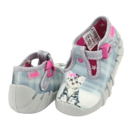 Befado kitty children's shoes 110P365 grey 3
