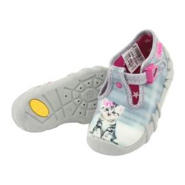 Befado kitty children's shoes 110P365 grey 4