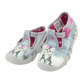 Befado kitty children's shoes 110P365 grey 2