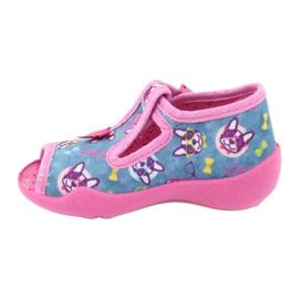Befado pink children's shoes 213P113 blue 2