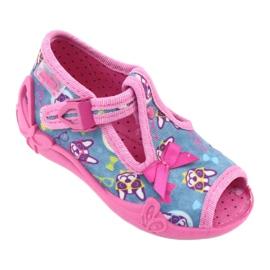 Befado pink children's shoes 213P113 blue 1