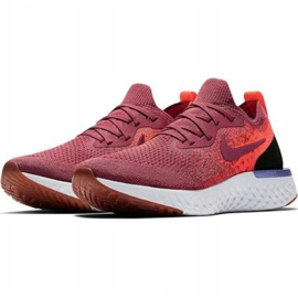 Nike Epic React Flyknit W AQ0070 601 running shoes red 1