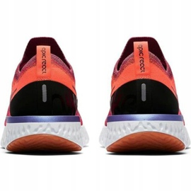 Nike Epic React Flyknit W AQ0070 601 running shoes red 2