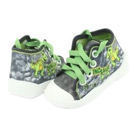 Befado children's shoes 218P058 grey green 5