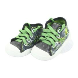 Befado children's shoes 218P058 grey green 4