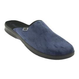 Befado men's shoes pu 548M018 black navy 2