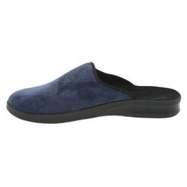 Befado men's shoes pu 548M018 black navy 3