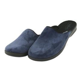 Befado men's shoes pu 548M018 black navy 4