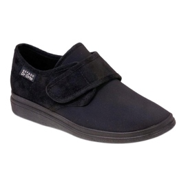 Befado men's shoes pu 036M006 black 1