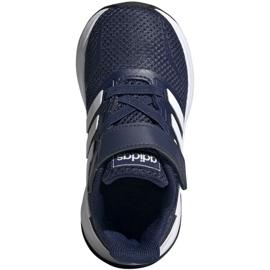 Adidas Runfalcon I Jr EG6153 shoes white navy 1