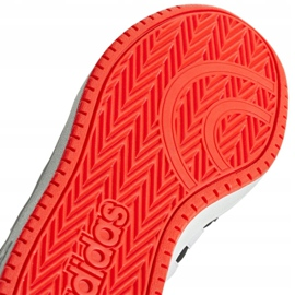 Adidas Hoops 2.0 Jr B76067 shoes black red 2