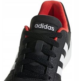 Adidas Hoops 2.0 Jr B76067 shoes black red 3