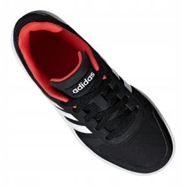 Adidas Hoops 2.0 Jr B76067 shoes black red 4