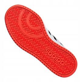 Adidas Hoops 2.0 Jr B76067 shoes black red 5