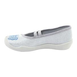 Befado hearts children's shoes 116X267 blue grey 2