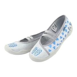 Befado hearts children's shoes 116X267 blue grey 3