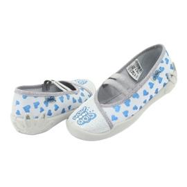 Befado hearts children's shoes 116X267 blue grey 4