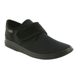 Befado men's shoes pu 036M006 black 2