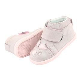 Velcro booties Koala Bartek 71150 pink grey 5