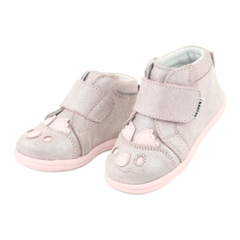 Velcro booties Koala Bartek 71150 pink grey 3