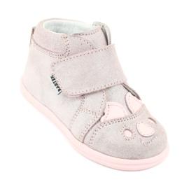 Velcro booties Koala Bartek 71150 pink grey 1