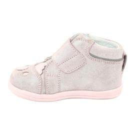 Velcro booties Koala Bartek 71150 pink grey 2