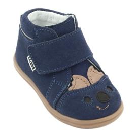 Panda Bartek 71150 velcro boots navy 1