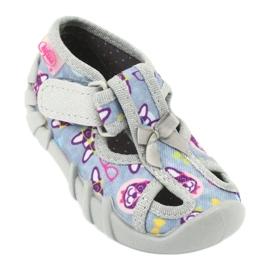 Befado children's shoes 190P093 blue grey multicolored 2