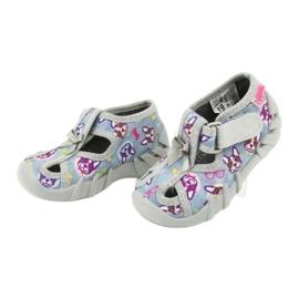 Befado children's shoes 190P093 blue grey multicolored 4