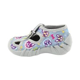 Befado children's shoes 190P093 blue grey multicolored 3